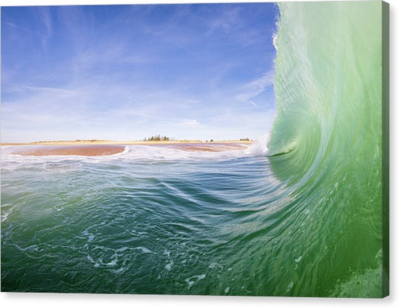 Shorebreak - Canvas Print