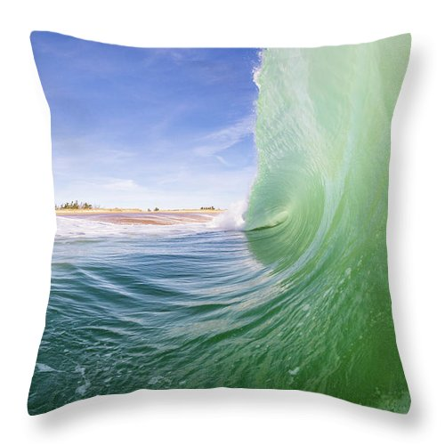 Shorebreak - Throw Pillow