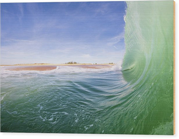 Shorebreak - Wood Print