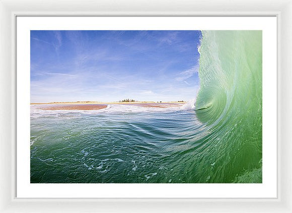 Shorebreak - Framed Print