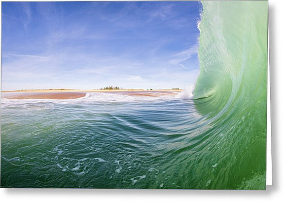 Shorebreak - Greeting Card