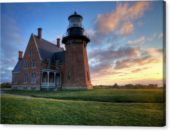 Southeast Light Sunrise - Canvas Print