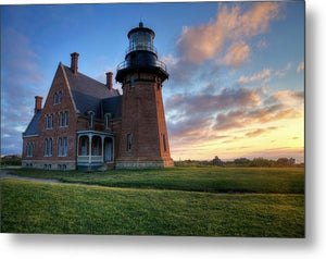 Southeast Light Sunrise - Metal Print