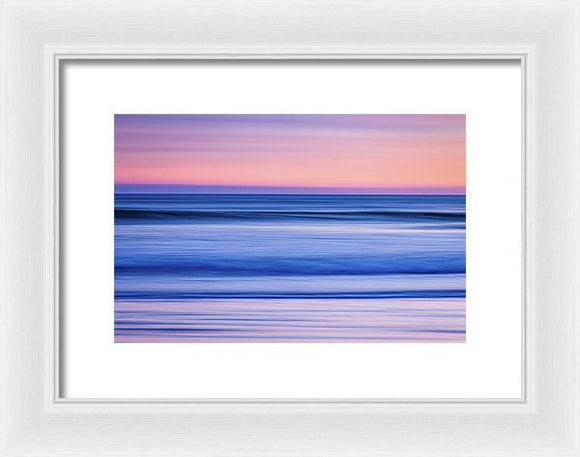 Sunset Abstract - Framed Print