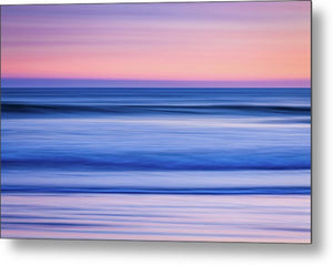 Sunset Abstract - Metal Print