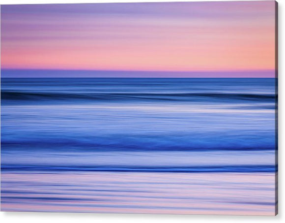 Sunset Abstract - Acrylic Print