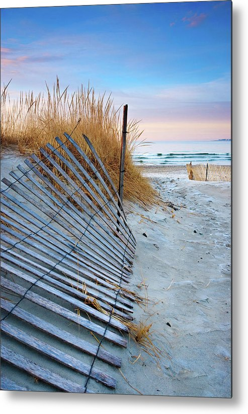 Winter Sunrise - Metal Print