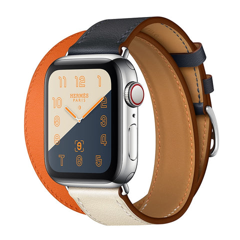 Pulseira Apple Watch Hermès Paris Double Tour