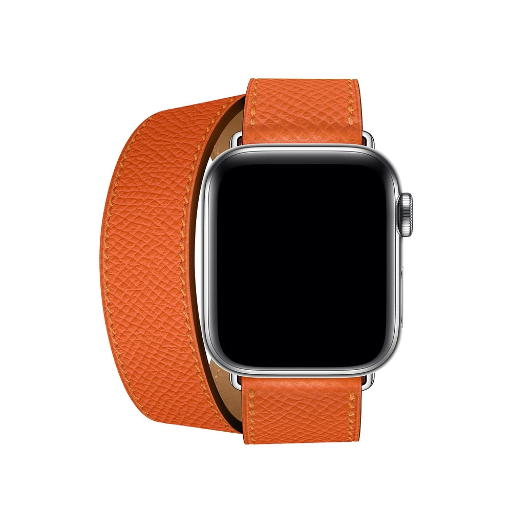 f3b247ce5b7 Pulseira Apple Watch Hermès Paris Double Tour – Armillaz Fashion Store
