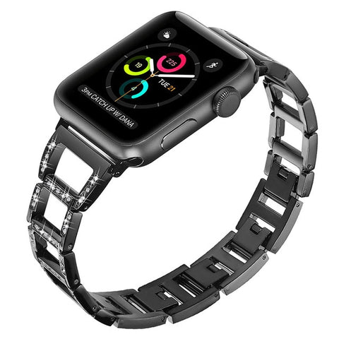 Pulseira Apple Watch Aço & Cristal Loyalty