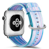 Pulseira Apple Watch Nylon Strap Rainbow Bridge