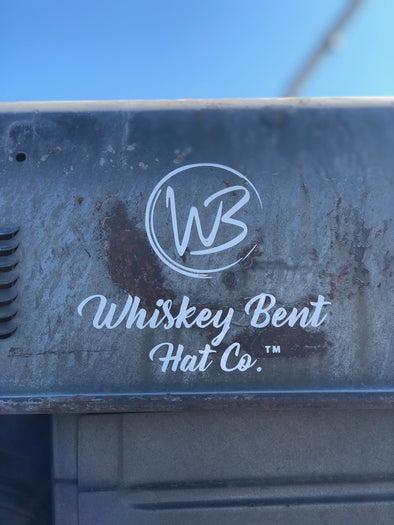 Whiskey Bent Hat Co-6' WBHC Decal