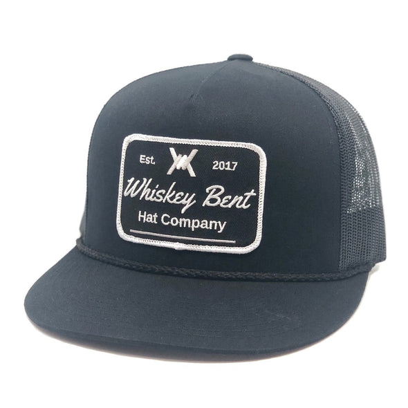 Whiskey Bent Hat Co-Black Top