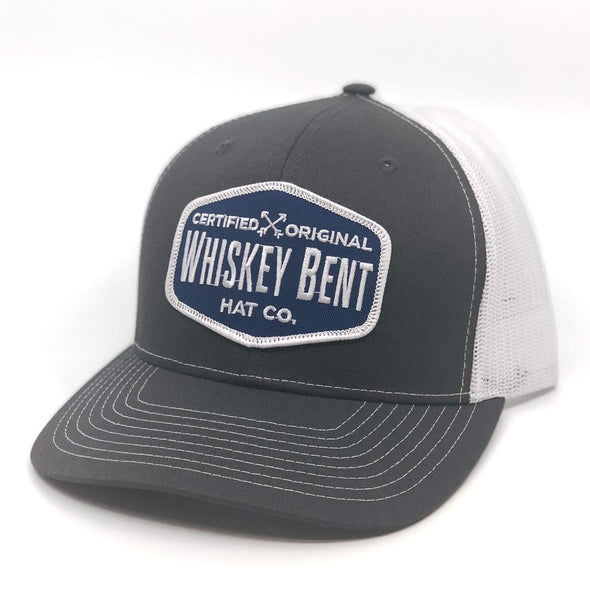 Whiskey Bent Hat Co-Certified Original Grey/White