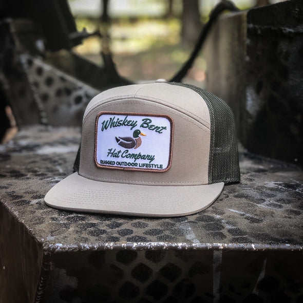 Whiskey Bent Hat Co-Green Head 7-Panel