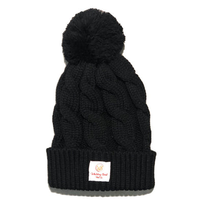 Whiskey Bent Hat Co-Pom Beanie