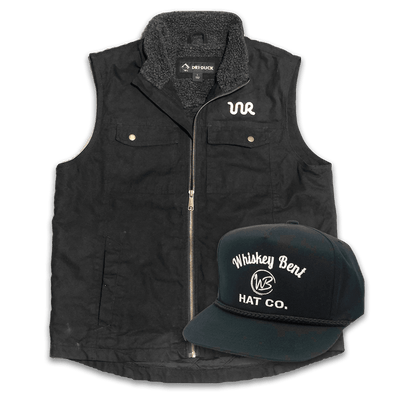 Whiskey Bent Hat Co-Rancher Vest Bundle