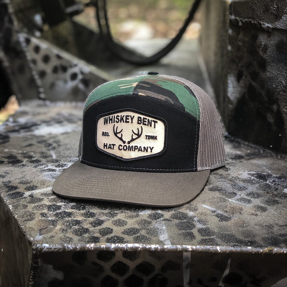 Whiskey Bent Hat Co-The Rut 7-Panel