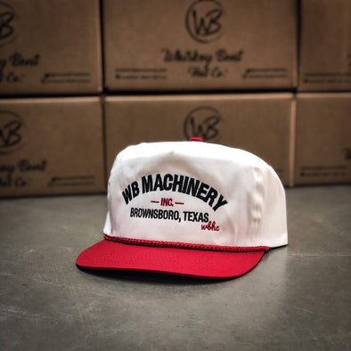 Whiskey Bent Hat Co-WB Machinery