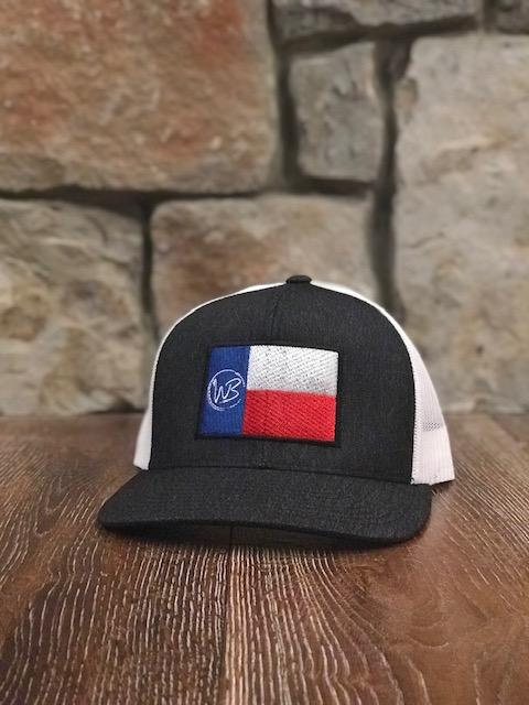Whiskey Bent Hat Co-WB Texas Flag