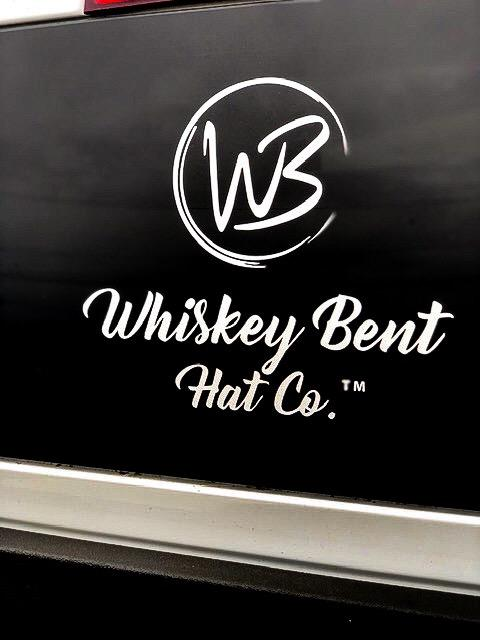 Whiskey Bent Hat Co-WBHC Decal