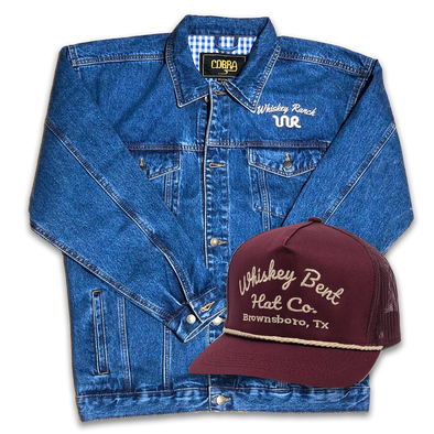 Whiskey Bent Hat Co-WR Denim Bundle