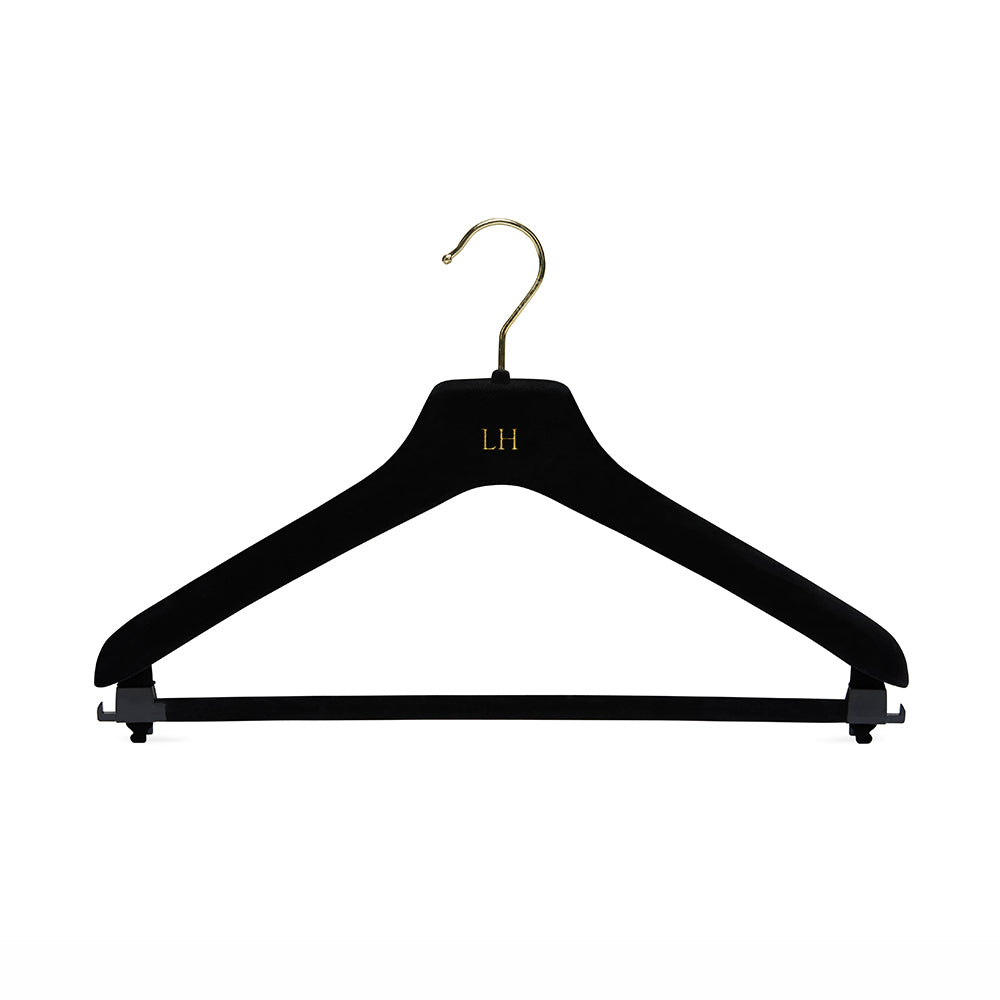 Black Hanger with Trouser Bar & Skirt loops