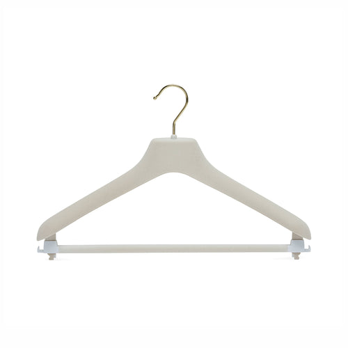 Grey Hanger with Trouser Bar & Skirt loops