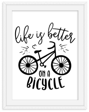 life is better on a bike