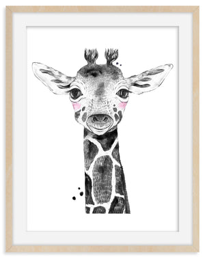 Giraffe Animal Print