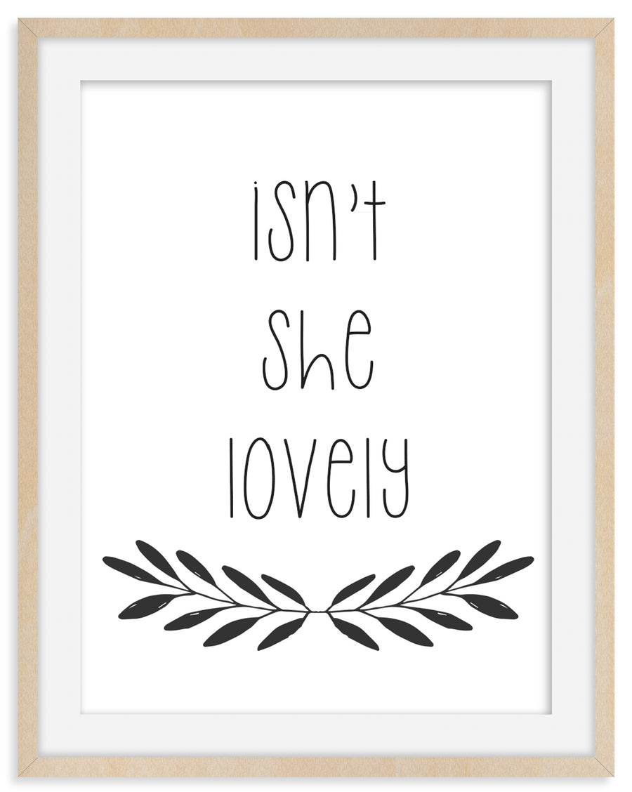 Framed Nursery Decor