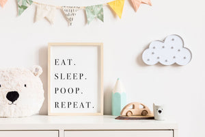 Eat Sleep Poop Repeat - Digital Download
