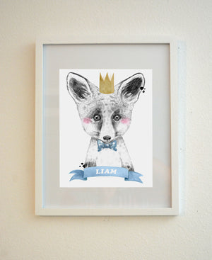 Fox Animal Nursery Decor