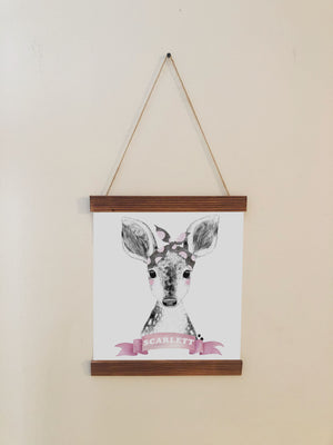 Deer Nursery Room Decor