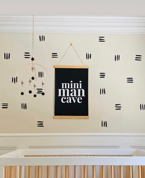 Mini Man Cave Scroll