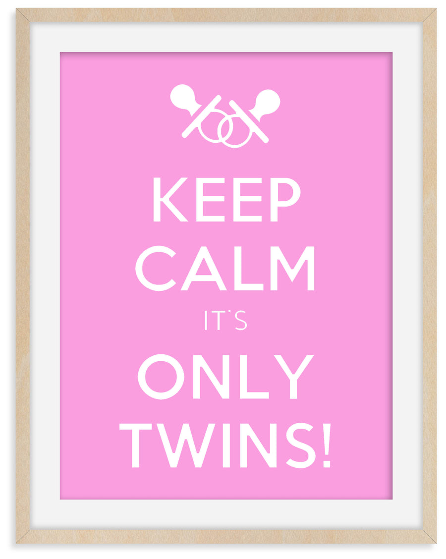 Keep Calm It's Only Twins