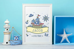 Boys Nursery Room Decor