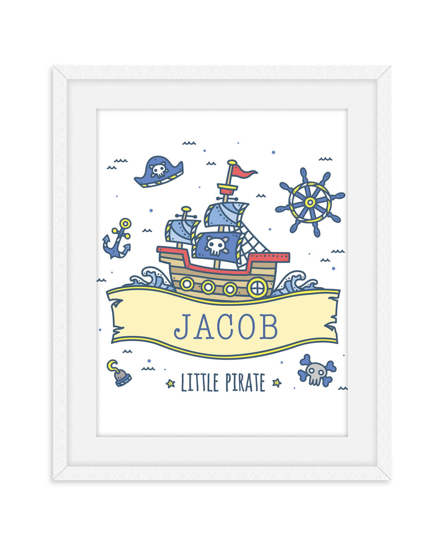 Little Pirate Nursery Room Decor