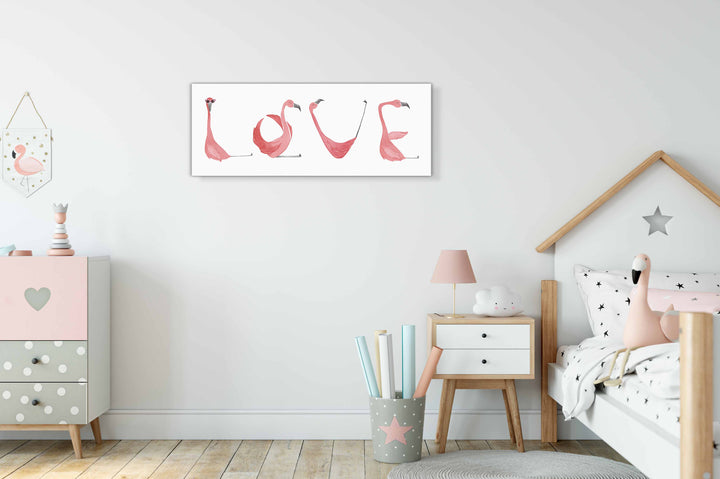 Flamingo Nursery Art
