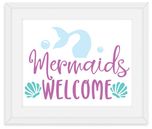Mermaid Framed Decor