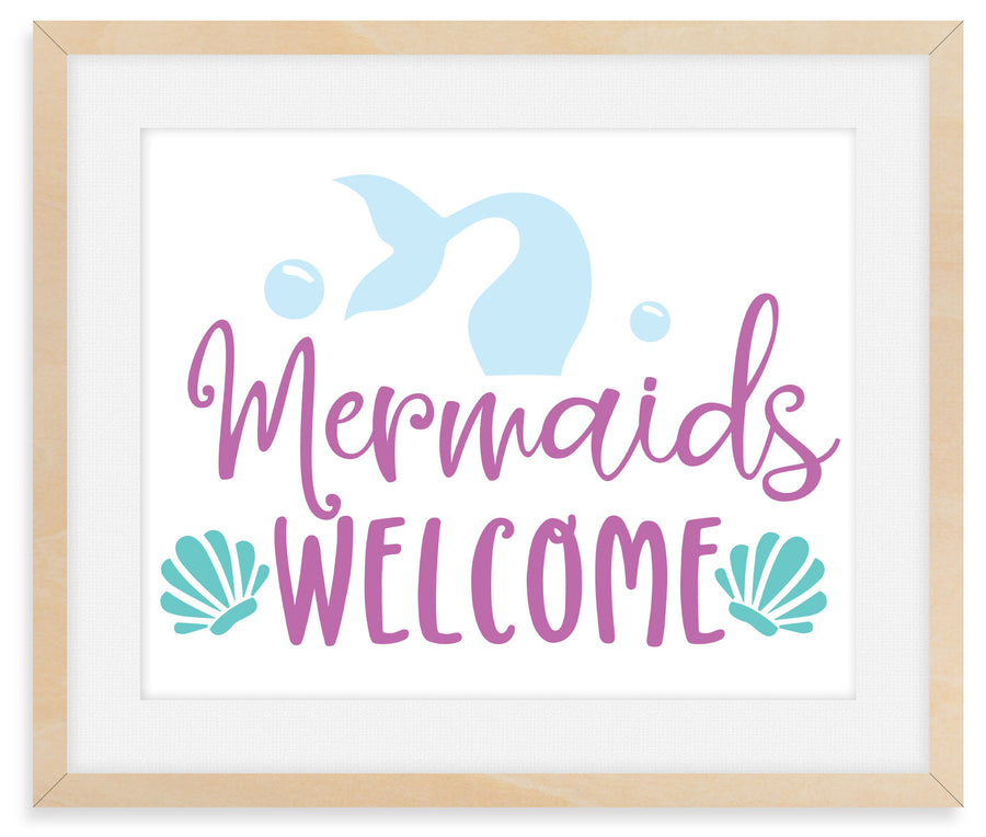 Mermaid Decor