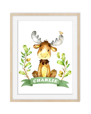 MOOSE NURSERY DECOR