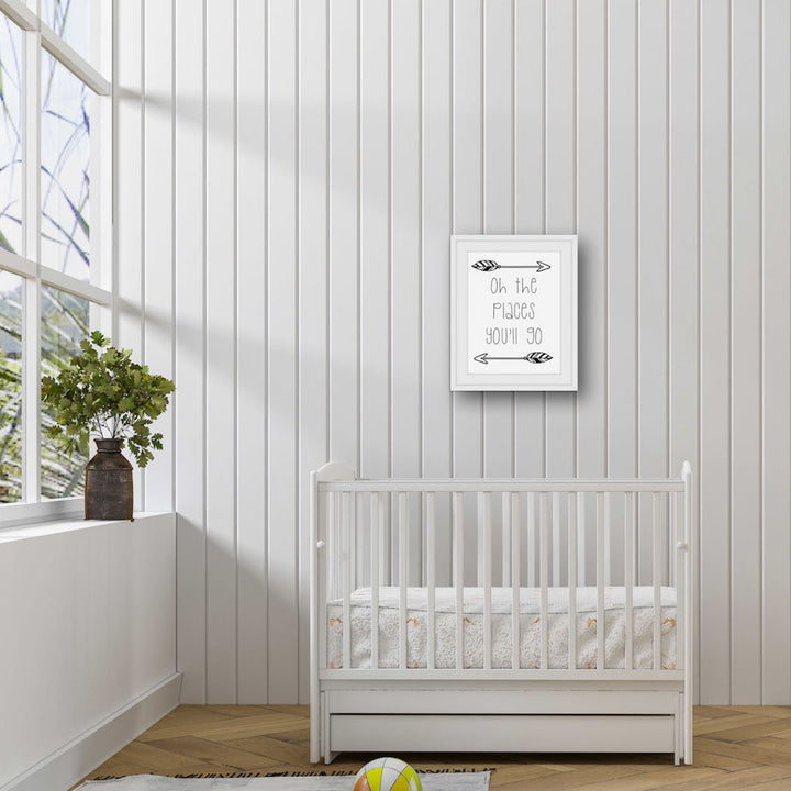 Nursery Room Decor Wall Art Crib Decor