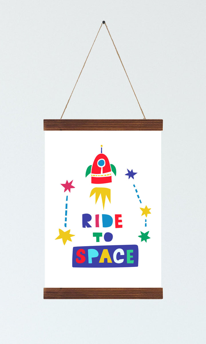 Rocket Ship Nursery Decor