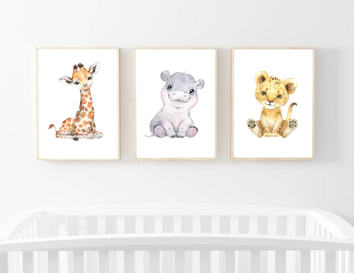 Safari Nursery Prints