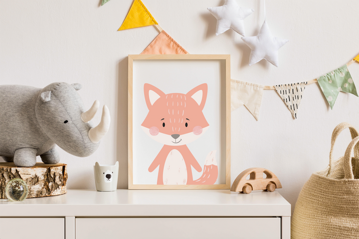Scandinavian Nursery Animals