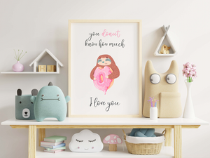 Donut Nursery Room Decor