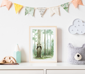 Peekaboo Nursery Print - Digital Download