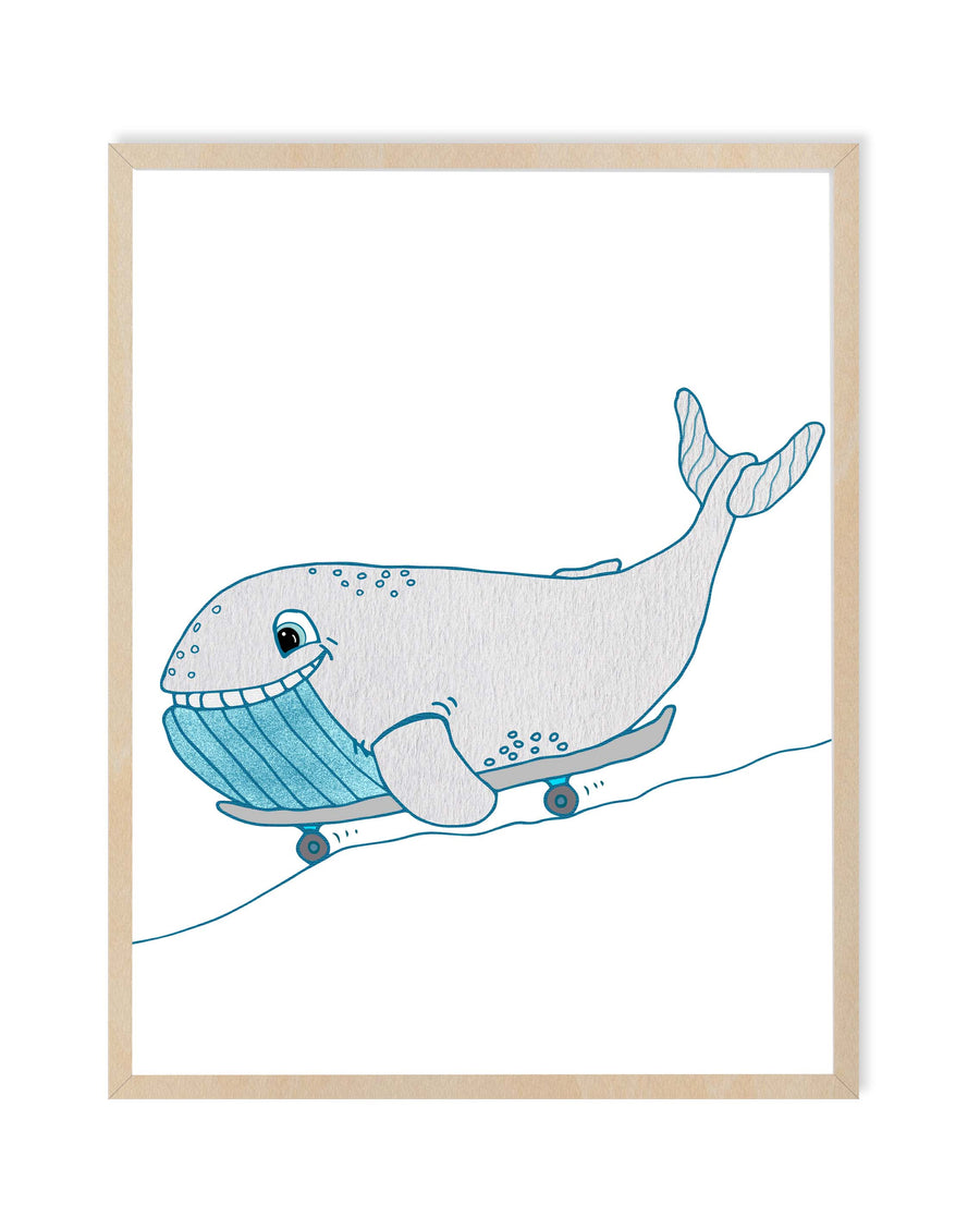 Whale Nursery Room Decor