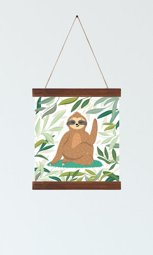 Sloth Nursery Wall Art
